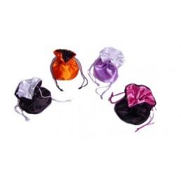 Set di 10 sacchetti piccoli a base tonda doppio colore