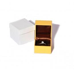 """Stock di 6 astucci linea """"Lizard"""" per anello 50x50xh50 mm"""
