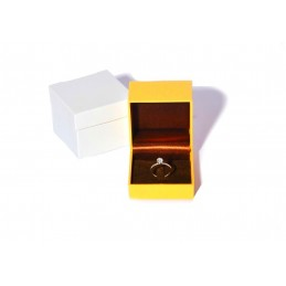 """Stock di 6 astucci linea """"Lizard"""" per anello 70x70xh56 mm"""