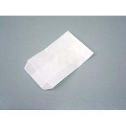 Sacchetto in carta bianca 70x100 mm - confezione 100 pezzi