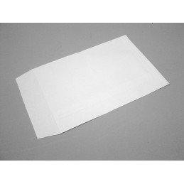 White paper bags 130x180 mm - set of 100 pieces