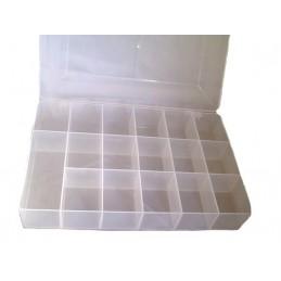 Contenitore di plastica per minuterie 27x18xh4.4cm