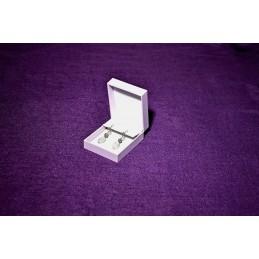 """Astuccio """"Purple"""" per orecchini 69x81 h33 mm"""