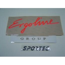 Etichette resinate con lettere prespaziate 3D - 100 pezzi
