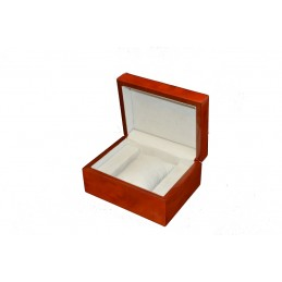 Briar wood watch case with...