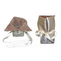 Lux bag with rigid base 8x8...