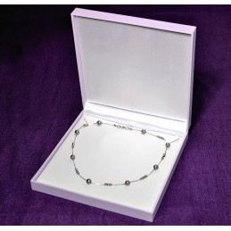 "Estuche ""Purple"" para collar maxi 190x193 h36 mm"