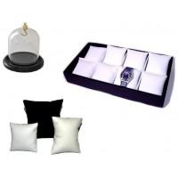 Custodia orologi, cuscini orologi, espositori orologi