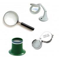 Lámparas, lentes y monóculos