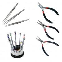 Pliers, Tweezers and Screwdrivers