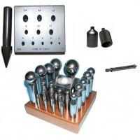 Tips, dies, dowels, buttons, crucibles and stoppers