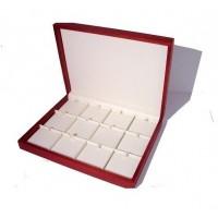Red wood presentation box