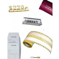 Certificados / etiquetas / etiquetas / bolsas de reparación / etiquetas de precio y mucho más.